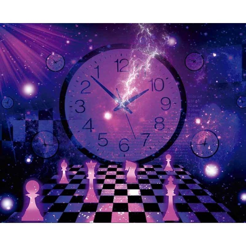 Mousepad with designs of chess model 21