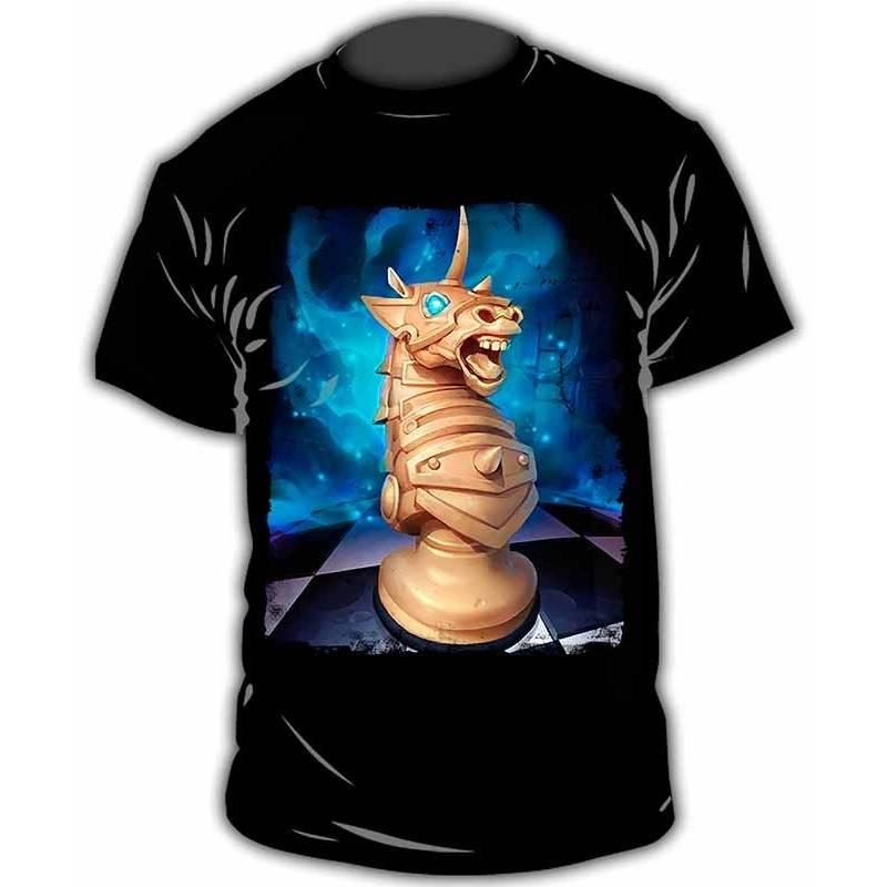Camiseta con diseño de ajedrez modelo 17