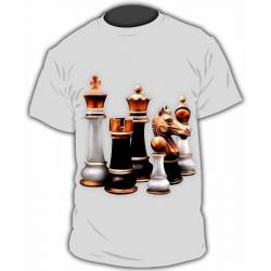 T-shirt with chess designs model 18