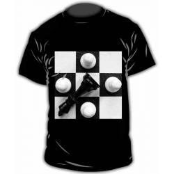 Chess design T-shirt model 22