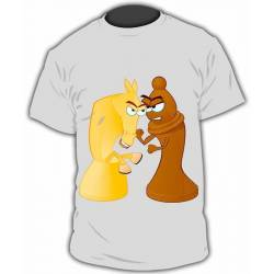 T-shirt with chess designs model 23