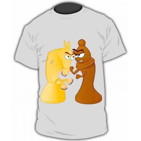 Camiseta con diseños de ajedrez modelo 23
