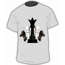 Chess design T-shirt model 25