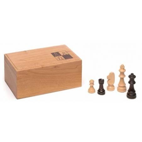 Peces escacs de fusta model Cayro