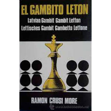 Chess book The gambit Leton