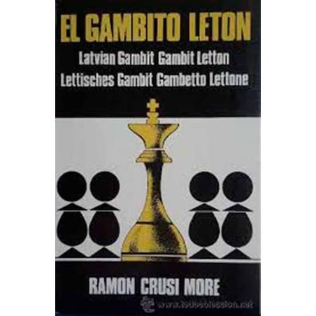 Libro ajedrez El gambito Leton