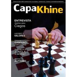 Chess magazine Capakhine nº 9. Half for children half for parents