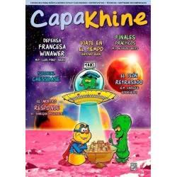 Revista ajedrez Capakhine nº 9. Mitad para niños mitad para padres