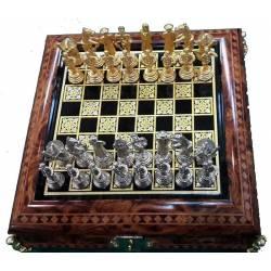 Toledo magnetic chess Quijote oro