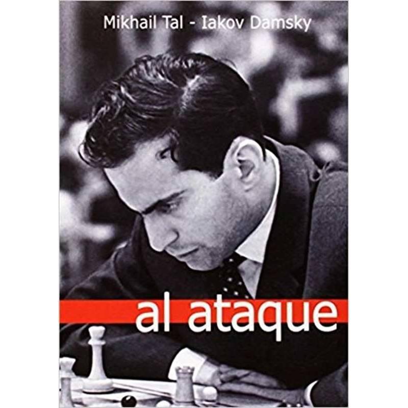 Libro ajedrez Al ataque Mihail Tal