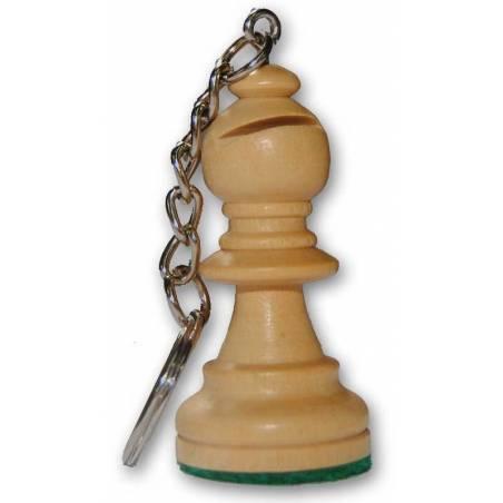 Llavero de ajedrez de madera todos los modelos