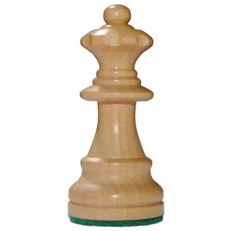 Llavero de ajedrez de madera Rey, dama, torre, alfil, caballo, peon