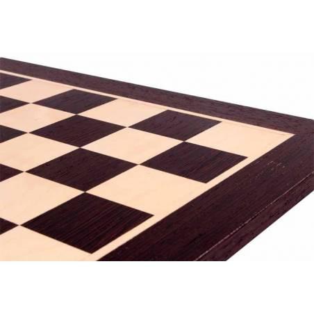 Tauler escacs fusta de wengué