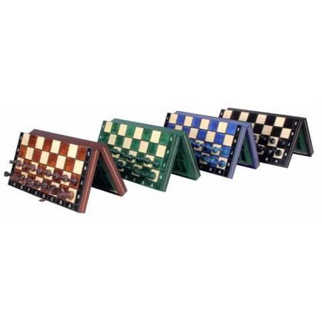 Conjunto ajedrez magnetico en 3 colores