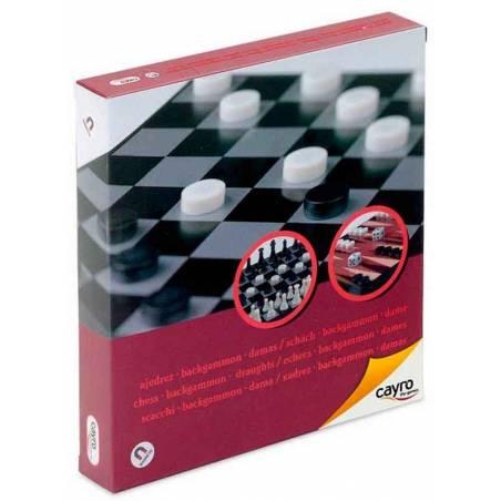 Escacs - Dames - Backgammon Viatge