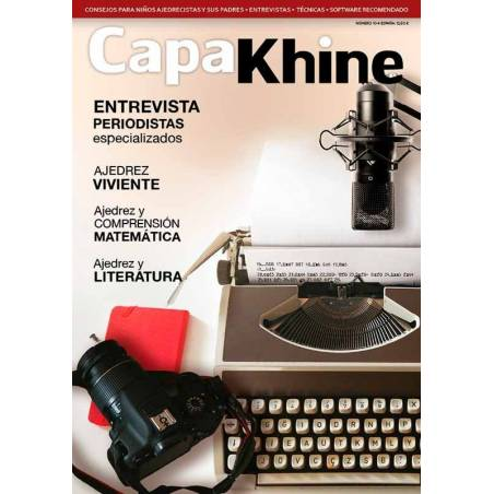 Revista ajedrez Capakhine nº 10. La revista de ajedrez para niños y sus padres