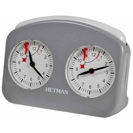 Rellotge analògic escacs Hetman