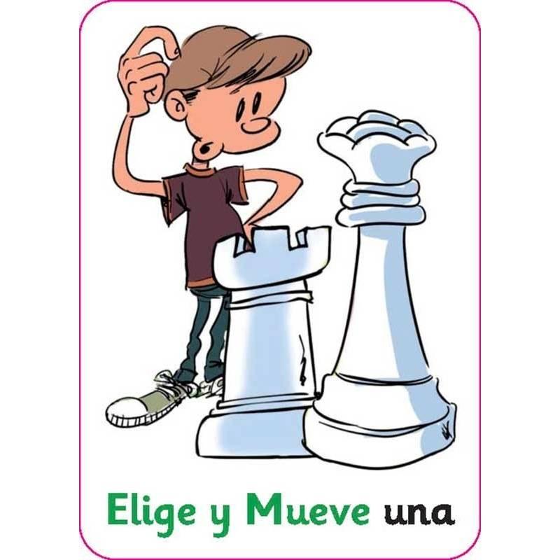Cartas de la suerte ajedrez