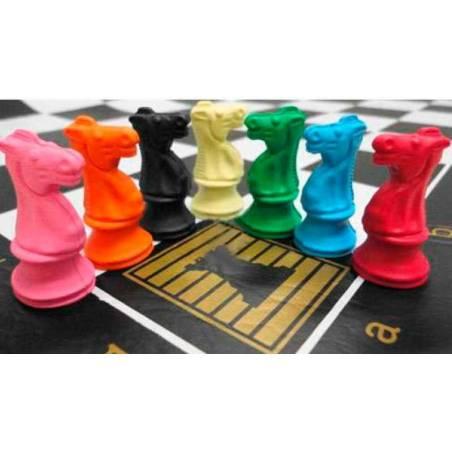 Goma de borrar caballo ajedrez