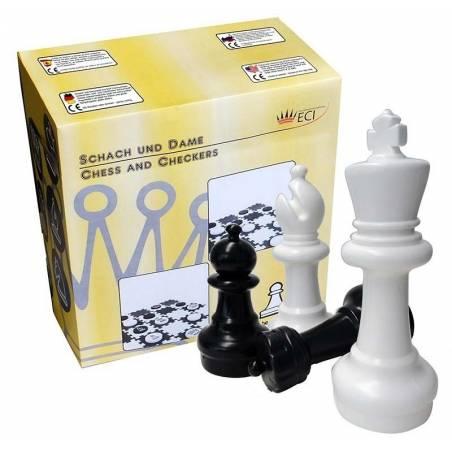 Conjunt gran escacs i dames Rei 31 cm.