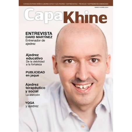Chess magazine Capakhine nº 1. The chess magazine for children and their parents
