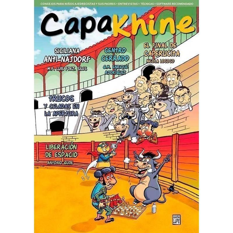 Revista ajedrez Capakhine nº 11. La revista de ajedrez para niños y sus padres