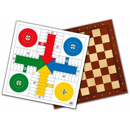 Board parchis-damas-chess 40 cm.