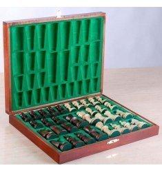 Caja plana para piezas