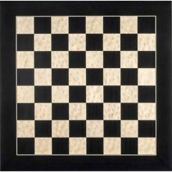 Chess wooden board Black de Luxe glossy 45 cm. Rechapados Ferrer