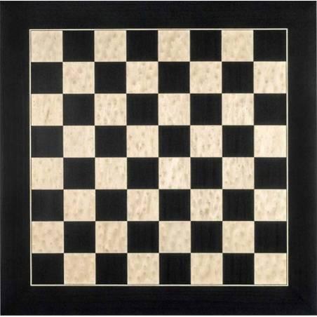 Tauler escacs fusta deluxe negre Rechapados Ferrer