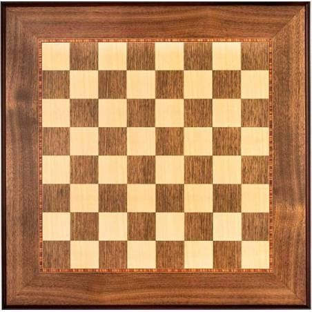 Chess board Walnut wood trim