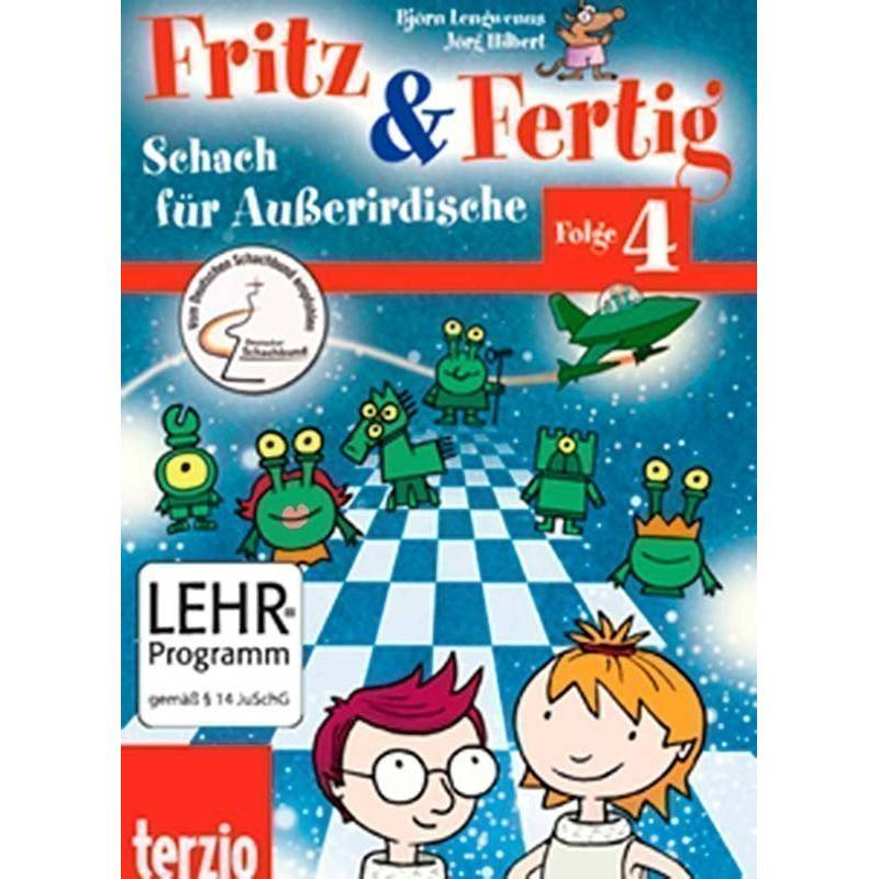 El pequeño Fritz 4 chess program for kids