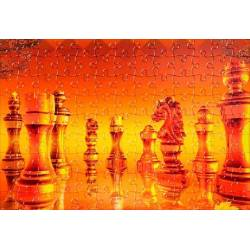 Puzzle con diseños de ajedrez modelo 1