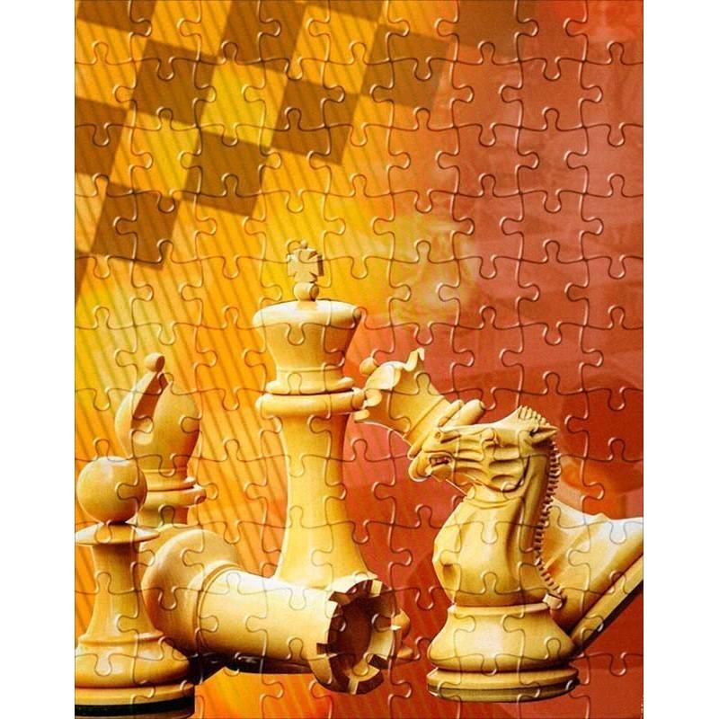 Puzzle de ajedrez modelo 2 varios diseños