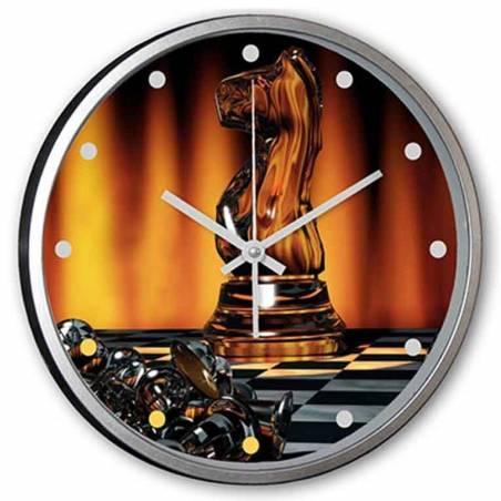Rellotges de paret personalitzats amb dibuixos d'escacs