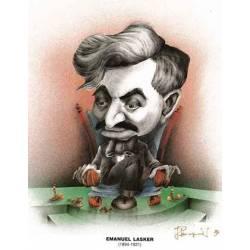 Chess world Cartoon Emmanuel Lasker