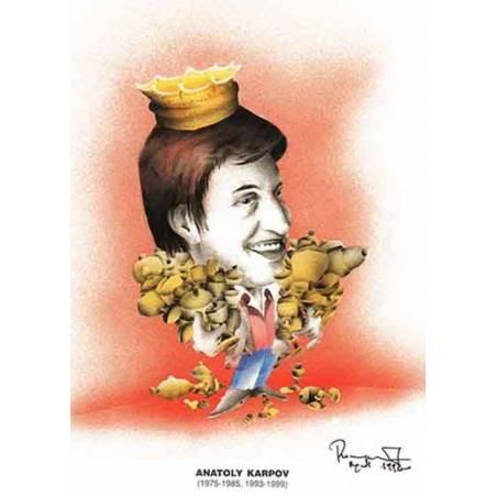 Caricatura campions del mon Anatoly Karpov