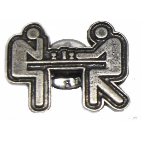 Pin escacs model 1