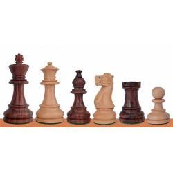 Piezas ajedrez madera Staunton Americano