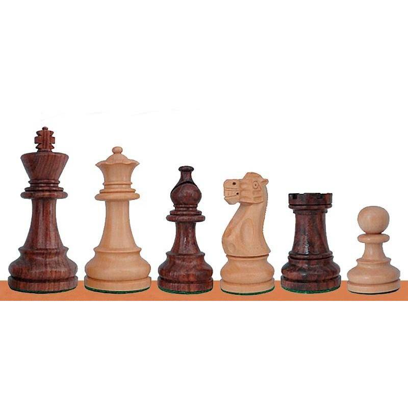 Chess wooden pieces American Staunton