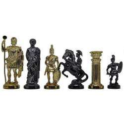 Chess plastic pieces Bright Rome model