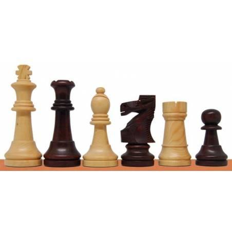 Piezas ajedrez de madera modelo Pulido