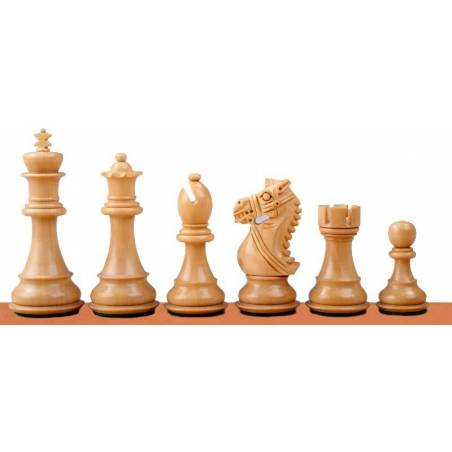 Chess wooden pieces King´s Bridal