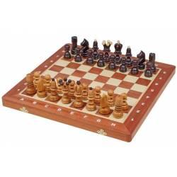 Tablero y piezas ajedrez modelo Pearl