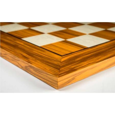 Tauler escacs fusta Olivera 50 cm. Rechapados Ferrer