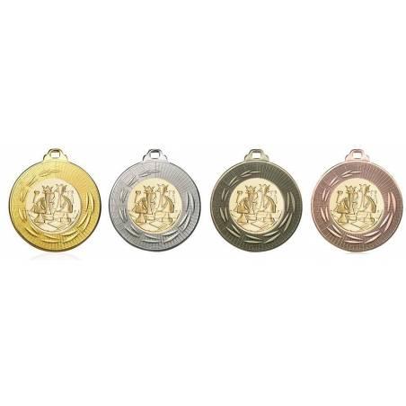 Medallas de ajedrez para sus campeonatos 50 mm.
