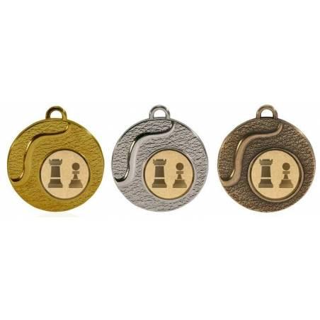 Medalles d'escacs per als seus campionats 50 mm. 033L