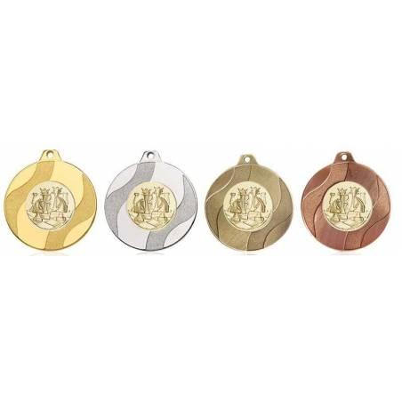 Medalles d'escacs per als seus campionats 50 mm. 072L