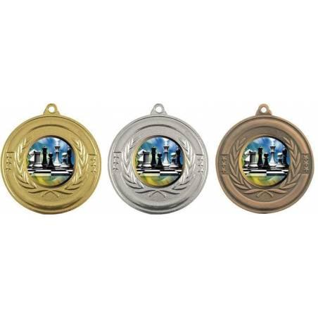 Medallas de ajedrez para sus campeonatos 50 mm. 29942