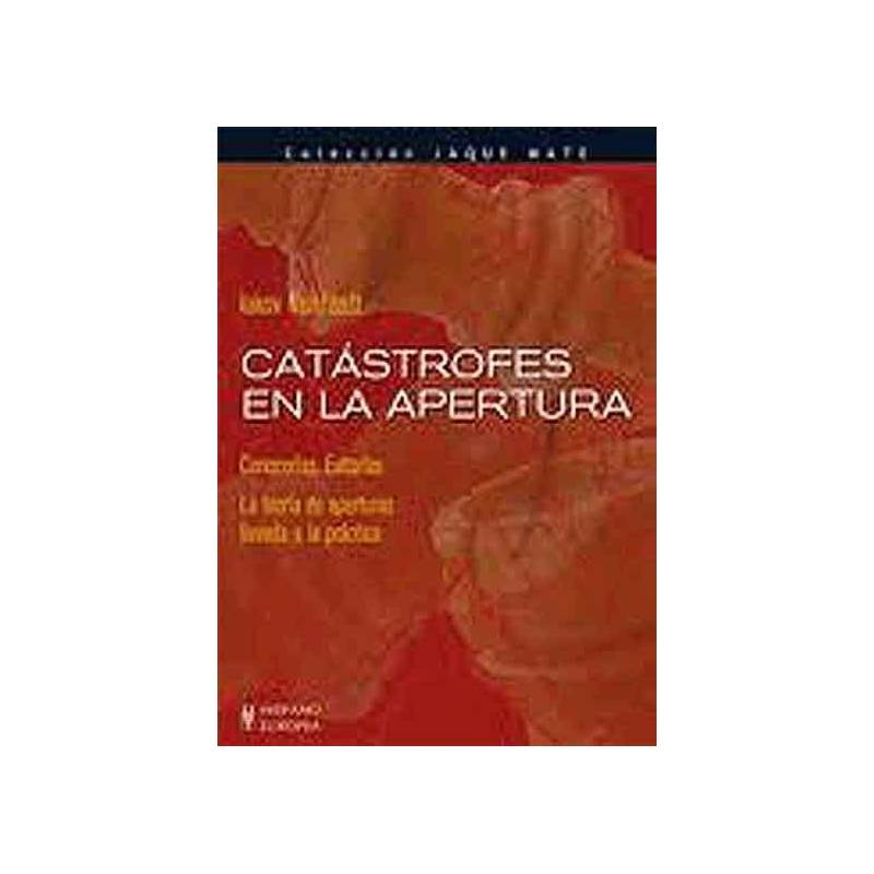 Libro ajedrez Catástrofes aperturas